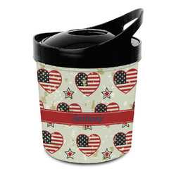Americana Plastic Ice Bucket (Personalized)