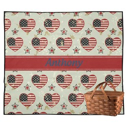 Americana Outdoor Picnic Blanket (Personalized)