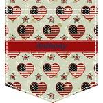 Americana Iron On Faux Pocket (Personalized)