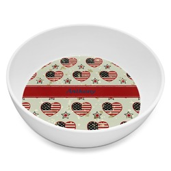 Americana Melamine Bowl - 8 oz (Personalized)