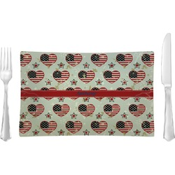 Americana Rectangular Dinner Plate (Personalized)