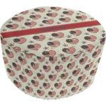 Americana Round Pouf Ottoman (Personalized)