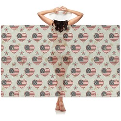 Americana Sheer Sarong (Personalized)