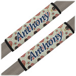 Americana Seat Belt Covers (Set of 2) (Personalized)