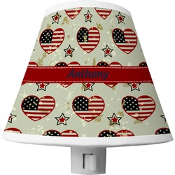 Americana Shade Night Light (Personalized)