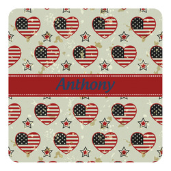 Americana Square Decal - Custom Size (Personalized)
