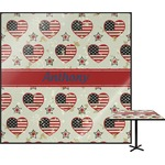 Americana Square Table Top (Personalized)