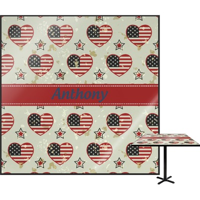 """Americana Square Table Top - 24"""" (Personalized)"""