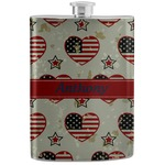 Americana Stainless Steel Flask (Personalized)
