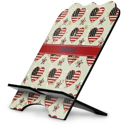 Americana Stylized Tablet Stand (Personalized)