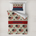 Americana Toddler Bedding w/ Name or Text