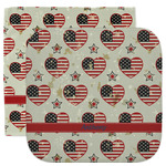 Americana Facecloth / Wash Cloth (Personalized)