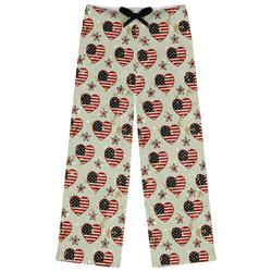 Americana Womens Pajama Pants (Personalized)