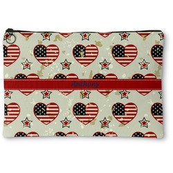 Americana Zipper Pouch (Personalized)