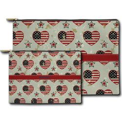 Americana Zipper Pouch (Personalized)