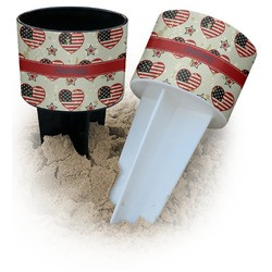 Americana Beach Spiker Drink Holder (Personalized)