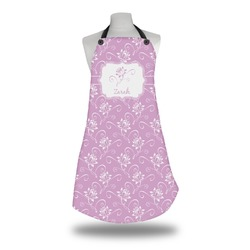Lotus Flowers Apron (Personalized)