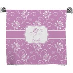 Lotus Flowers Bath Towel (Personalized)