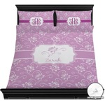 Lotus Flowers Duvet Cover Set (Personalized)