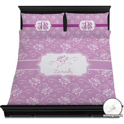 Lotus Flowers Duvet Covers (Personalized)
