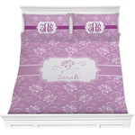 Lotus Flowers Comforter Set (Personalized)