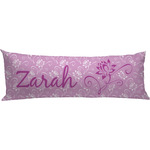 Lotus Flowers Body Pillow Case (Personalized)