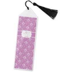Lotus Flowers Book Mark w/Tassel (Personalized)