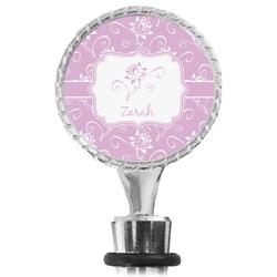 Lotus Flowers Wine Bottle Stopper (Personalized)