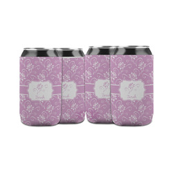 Lotus Flowers Can Sleeve (12 oz) (Personalized)
