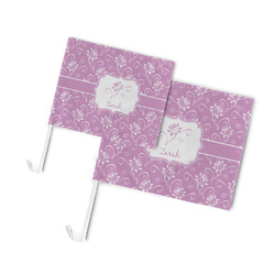 Lotus Flowers Car Flag (Personalized)