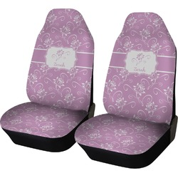 Lotus Flowers Car Seat Covers (Set of Two) (Personalized)