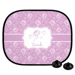 Lotus Flowers Car Side Window Sun Shade (Personalized)