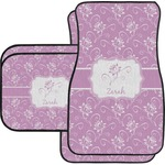 Lotus Flowers Car Floor Mats (Personalized)