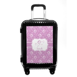 Lotus Flowers Carry On Hard Shell Suitcase (Personalized)