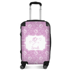 Lotus Flowers Suitcase (Personalized)