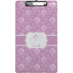 Lotus Flowers Clipboard (Legal Size) (Personalized)