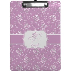 Lotus Flowers Clipboard (Personalized)