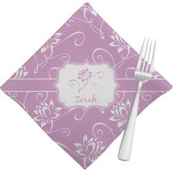 Lotus Flowers Napkins (Set of 4) (Personalized)
