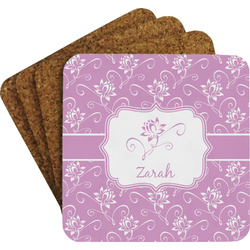 Lotus Flowers Coaster Set (Personalized)