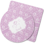 Lotus Flowers Rubber Backed Coaster (Personalized)