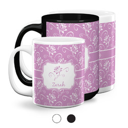 Lotus Flowers Coffee Mugs (Personalized)