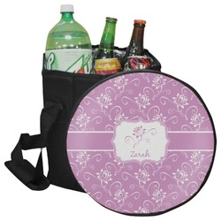 Lotus Flowers Collapsible Cooler & Seat (Personalized)