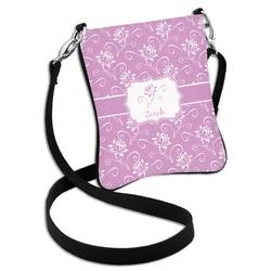 Lotus Flowers Cross Body Bag - 2 Sizes (Personalized)