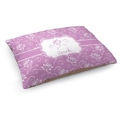 Lotus Flowers Dog Pillow Bed (Personalized)