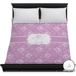 Lotus Flowers Duvet Cover (Personalized)