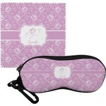 Lotus Flowers Eyeglass Case & Cloth (Personalized)