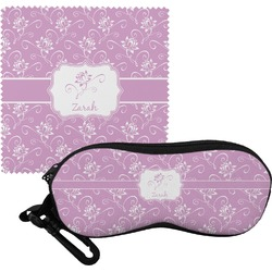Lotus Flowers Eyeglass Case & Cloth (Personalized)