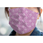 Lotus Flowers Face Mask Cover (Personalized)