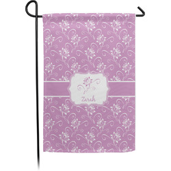 Lotus Flowers Garden Flag - Single or Double Sided (Personalized)