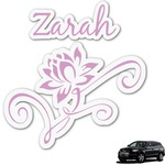 Lotus Flowers Graphic Car Decal (Personalized)